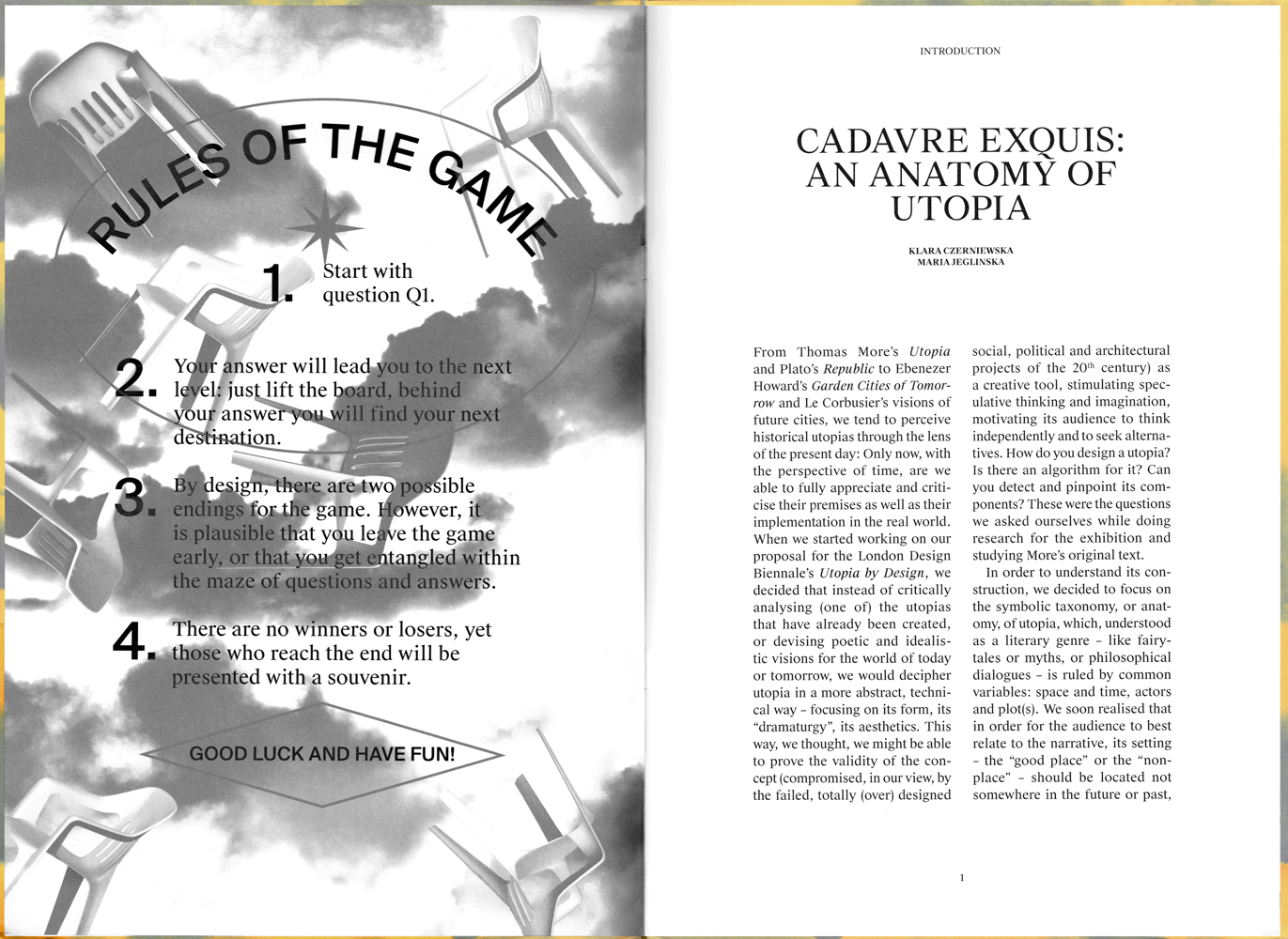 Studio Pyda Cadavre Exquis: An Anatomy of Utopia