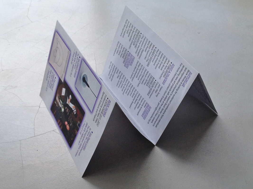 Studio Pyda Bookworks 2011-2012 catalogue
